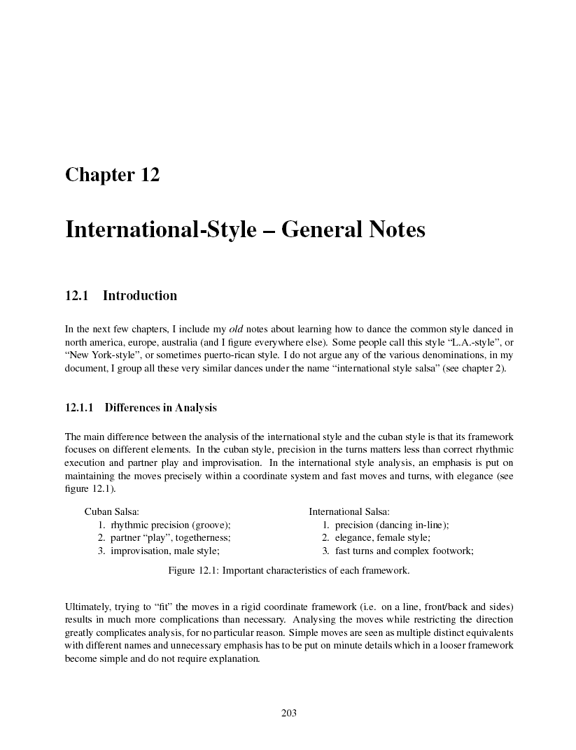 Latin Dance Study Guide Cool Moves Step By Salsa Diagram Essential Move Descriptions Show Entries And Exits International Style General Notes